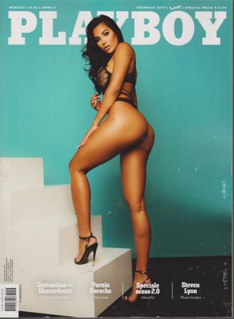 Playboy - n. 36 - mensile - febbraio 2019 -