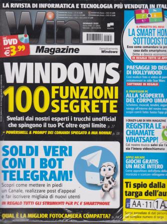Win magazine - n. 265 - gennaio 2020 - mensile - rivista + dvd