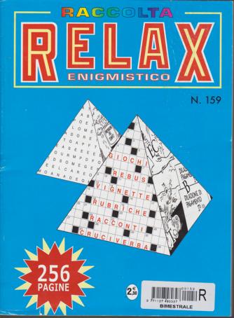 Raccolta Relax enigmistico - bimestrale - agosto - settembre 2018 - 256 pagine