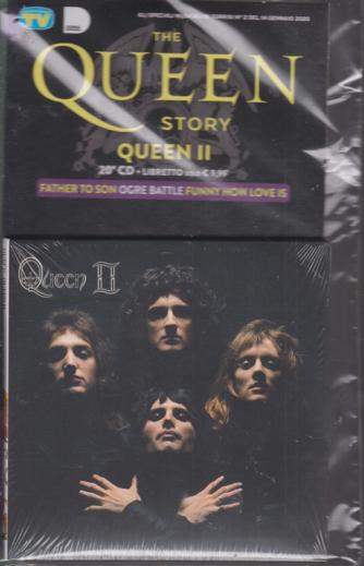 Gli speciali musicali di Sorrisi - n. 2 - 14 gennaio 2020 - The Queen story - Queen II - 20° CD + Libretto - settimanale -