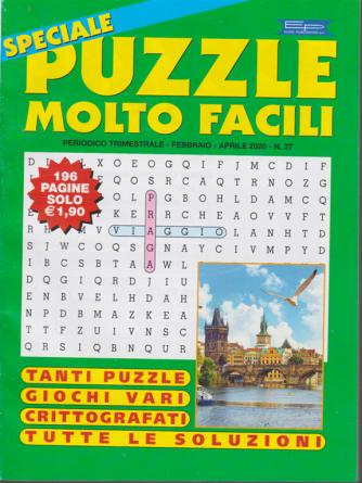 Speciale Puzzle molto facili - n. 27 - trimestrale - febbraio - aprile 2020 - 196 pagine
