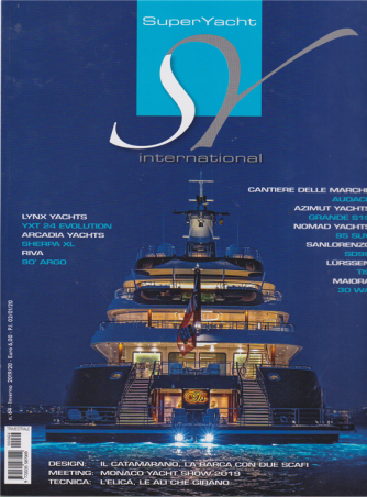 Super Yacht international - n. 64 - inverno 2019/20 - 2/1/2020