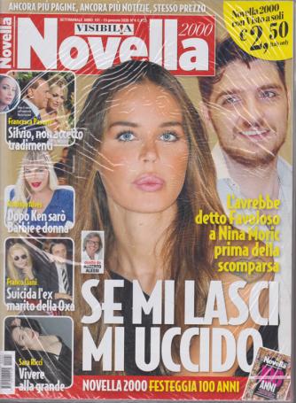 Novella 2000 - n. 4 - settimanale - 15 gennaio 2020 - + Visto - 2 riviste