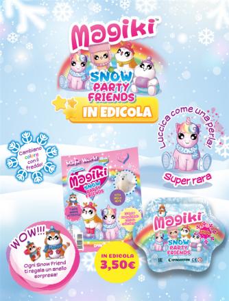BUSTINE MAGIKI Snow party friends
