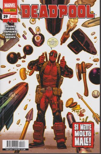 Deadpool - n. 148 - Si mette molto male! - quindicinale - 16 gennaio 2020
