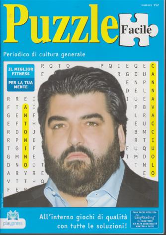 Puzzle facile - n. 152 - 17/1/2020 - bimestrale -