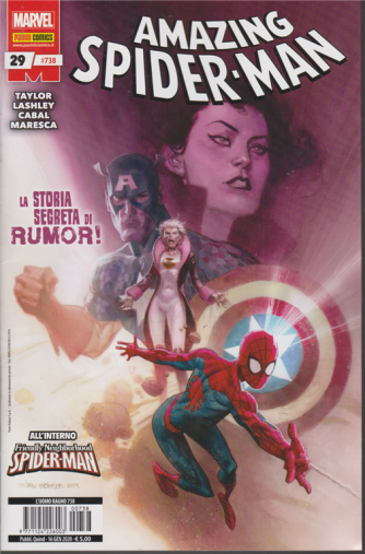 Amazing Spider man - n. 738 - quindicinale - 16 gennaio 2020