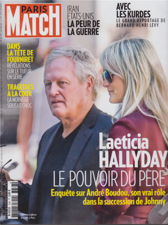 Match Paris - n. 3688 - janvier 2020 - in lingua francese