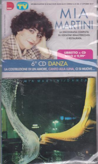 Le raccolte musicali di Sorrisi 4 - n. 6 - Mia Martini - Danza - 6° cd - libretto + cd - 19/3/2019
