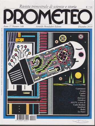 Prometeo - n. 148 - trimestrale - dicembre 2019 -