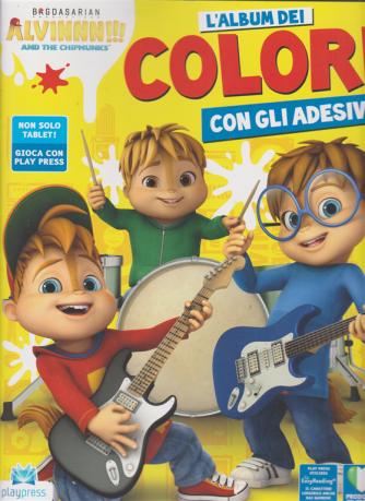 Alvinnn!!!! And the chipmunks l'album dei colori n. 4 - gennaio - febrraio 2020 - bimestrale