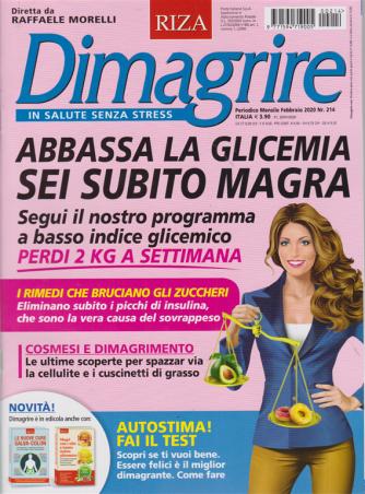 Dimagrire RIZA: mensile n. 2314  Febbraio 2020