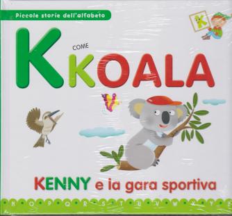 Piccole storie dell'alfabeto - K come koala - Kenny e la gara sportiva - n. 10 - 21/1/2020 - settimanale - copertina rigida