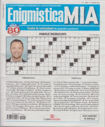 Enigmistica Mia- n. 4 - 27 gennaio 2020 - settimanale
