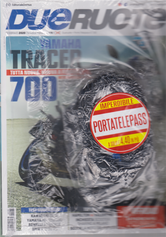Dueruote - n. 178 - febbraio 2020 - + Porto Telepass - mensile