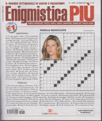 Enigmistica più - n. 4 - 28 gennaio 2020 - settimanale