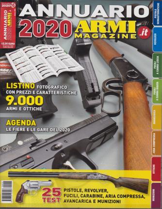 Annuario Armi magazine 2020 - n. 16 - 15 gennaio 2020 - annuale