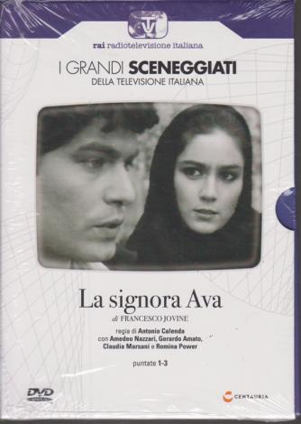I grandi sceneggiati della televisione italiana - La signora Ava - di Francesco Jovine - n. 97 - settimanale - 23/1/2020 -