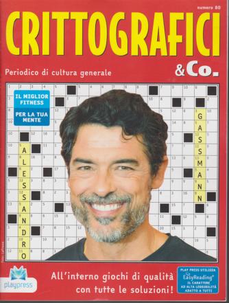 Crittografici & Co. - n. 80 - bimestrale - 24/1/2020 - Alessandro Gassmann