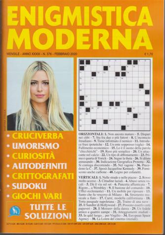 Enigmistica moderna - n. 376 - mensile - febbraio 2020