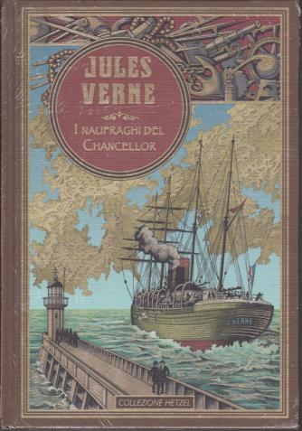 Jules Verne - I naufraghi del Chancellor - n. 19 - settimanale - 26/1/2020 - copertina rigida