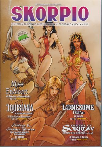 Skorpio - n. 2238 - 23 gennaio 2020 - settimanale di fumetti