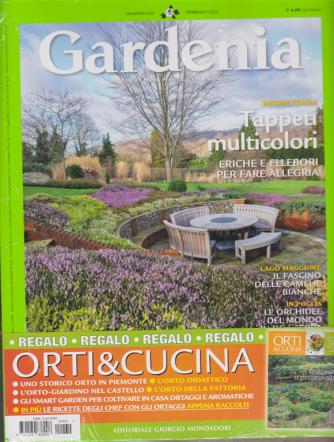 Gardenia + Orti & Cucina - n. 430 - febbraio 2020 - 2 riviste