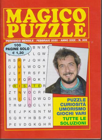 Magico puzzle - n. 309 - mensile - febbraio 2020 - 100 pagine