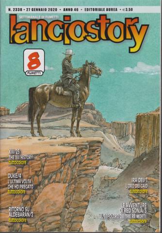 Lanciostory - n. 2338 - 27 gennaio 2020 - settimanale di fumetti
