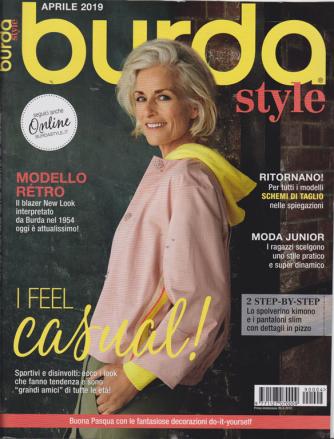 Burda style - n. 4 - mensile - aprile 2019 -