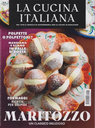 La cucina italiana - n. 2 - mensile - febbraio 2020 -