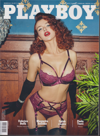 Playboy - n. 37 - mensile - marzo 2019