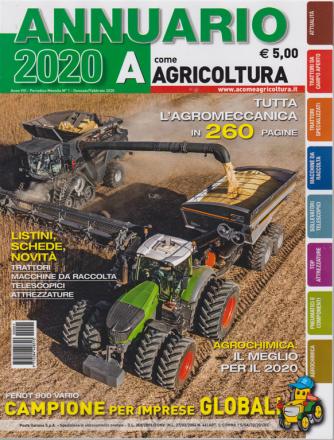 A come Agricoltura -Annuario 2020 - n. 1 - mensile - gennaio - febbraio 2020