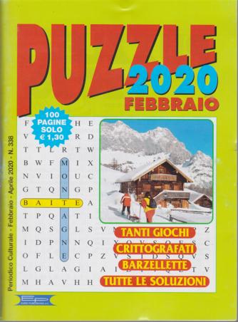 Puzzle 2020 - febbraio - aprile 2020 - n. 338 - 100 pagine