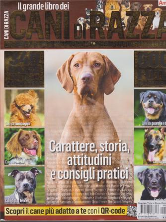 Il grande libro dei cani di razza - n. 16 - bimestrale - febbraio - marzo 2020