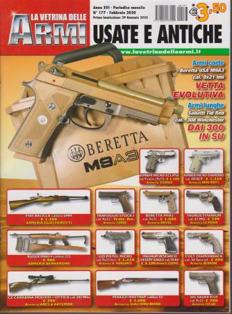 La vetrina delle armi usate e antiche - n. 177 - febbraio 2020 - mensile