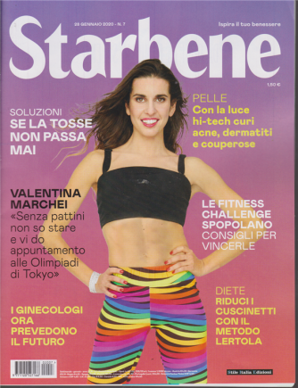 Starbene - n. 7 - 28 gennaio 2020 - settimanale