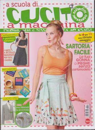 A scuola di....cucito a macchina - n. 14 - bimestrale - febbraio - marzo 2020 - + rivista omaggio Più bimbi - 2 riviste