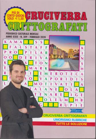 Cruciverba crittografati - n. 309 - mensile - febbraio 2020 - più di 100 giochi