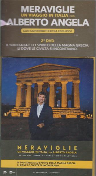 Meraviglie - Un viaggio in Italia con Alberto Angela con contributi extra esclusivi - 2° dvd - 29 gennaio 2020 - settimanale
