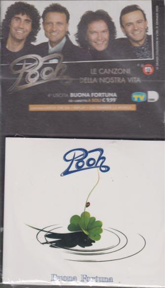 Pooh - Quarta uscita - Buona fortuna - cd + libretto - settimanale - febbraio 2020