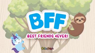 Pupazzi BFF BEST FRIENDS 4EVER