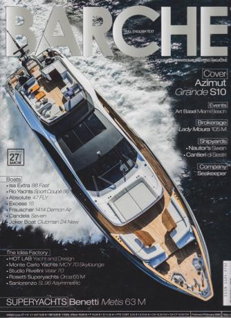 Barche - n. 2 - febbraio 2020 - mensile