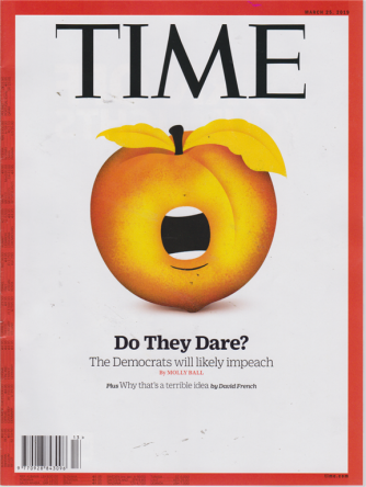 Time - 25 march 2019 - in inglese