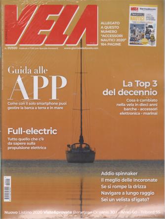 Il giornale della vela + Accessori nautici 2020 - n. 1 - febbraio 2020 - 2 riviste