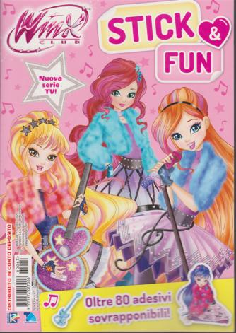 Winx club - Stick & Fun - n. 63 - 25/1/2020 - bimestrale