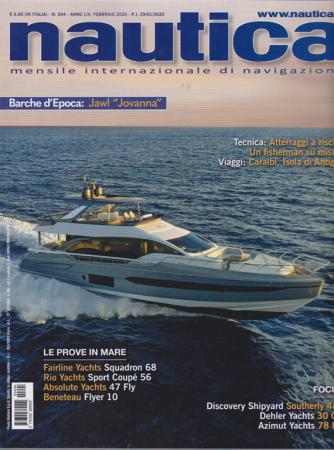 Nautica - n. 694 - febbraio 2020 - mensile