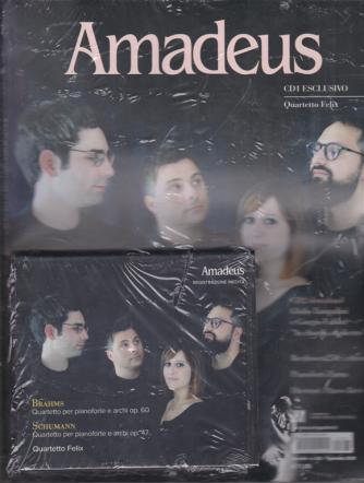 Amadeus - n. 362 - mensile - 1 gennaio 2020 + cd 1 esclusivo - Quartetto Felix