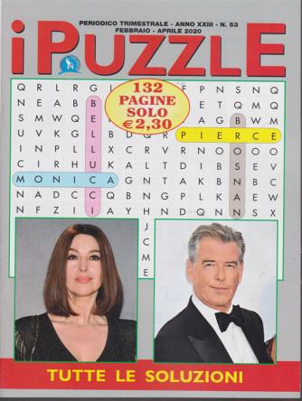 I puzzle - n. 53 - trimestrale - febbraio - aprile 2020 - 132 pagine