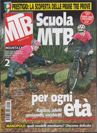 MTB Magazine - n. 2 - mensile - febbraio 2020